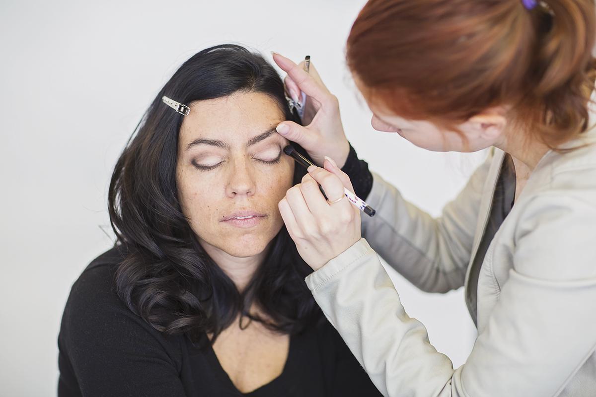 Maquillage - séance photo - Photographe professionnel - Portrait femme à Montréal – Isa Photographie
