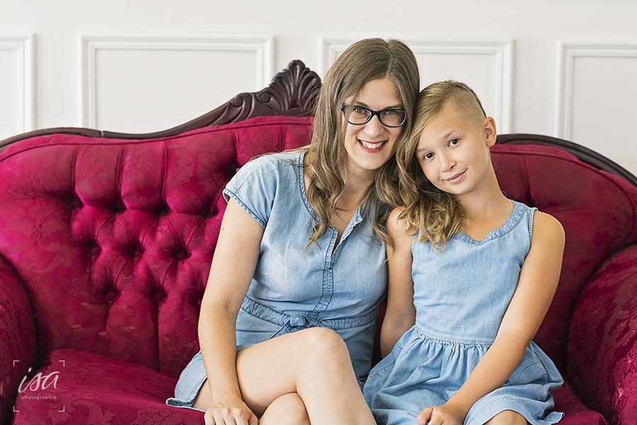 Séance mère-fille – Mélissa et Élie
